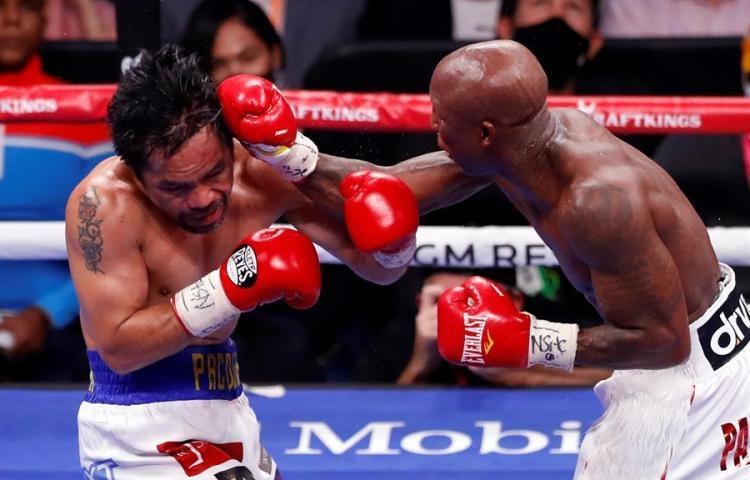 Manny Pacquiao no pudo con el cubano Yordenis Ugás