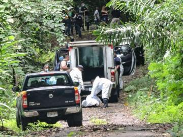 Lo ejecutaron y dejaron en área boscosa en Las Cumbres