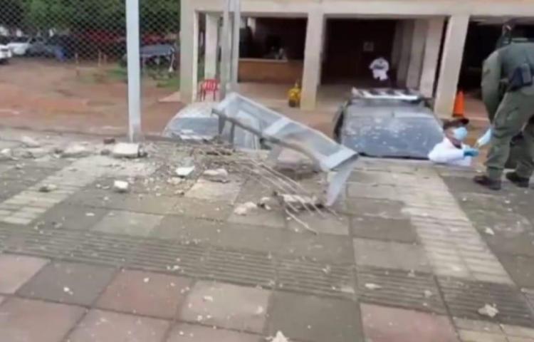 Atentado contra estación de Policía en Colombia deja al menos 14 heridos