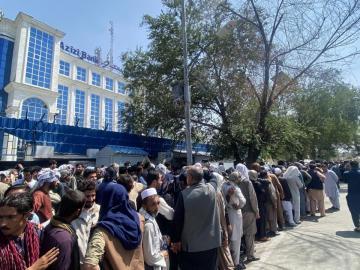 """Los talibanes esperan mantener una """"relación sólida"""" con China"""