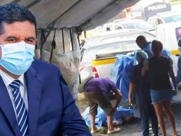 """¿Inseguridad? """"Tenemos un pequeño problema en San Miguelito"""", ministro Juan Pino"""