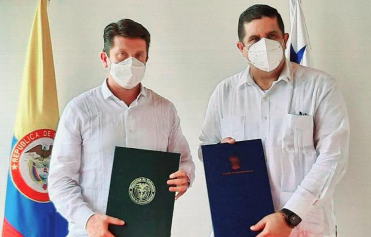 Panamá y Colombia firman declaración sobre seguridad