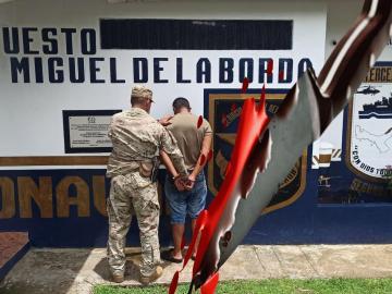 Queda detenido por asesinar a filo en Costa Abajo de Colón