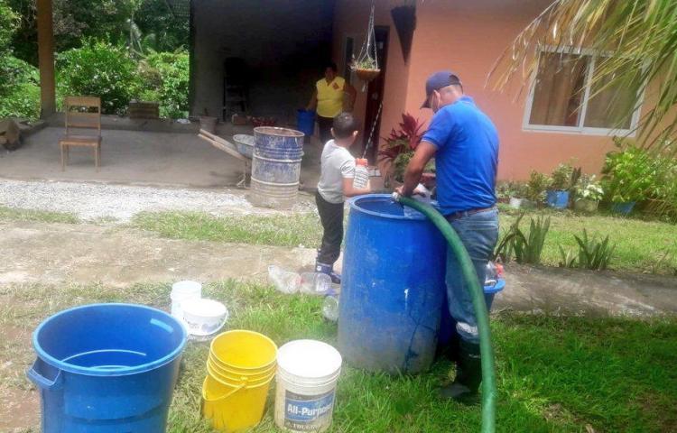 ¡Agarre agua! Planta Federico Guardia estará suspendida por 4 horas