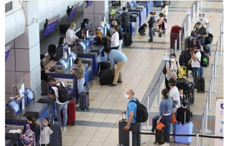 Aeropuerto Internacional de Tocumen suma hasta agosto 4.9 millones de pasajeros