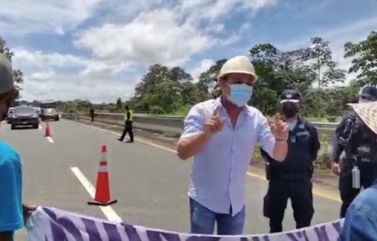Protesta por deficiente recolección de la basura en Juay