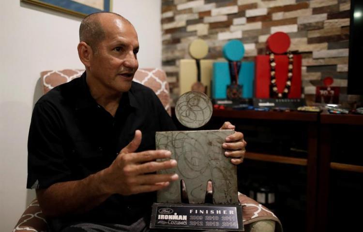 Panameño de 60 años busca clasificarse a Mundial de Ironman