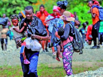 Más de 70 mil personas han cruzado la jungla