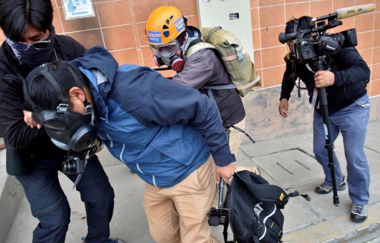 Condenan un operativo que dejó dos periodistas heridos y un arrestado