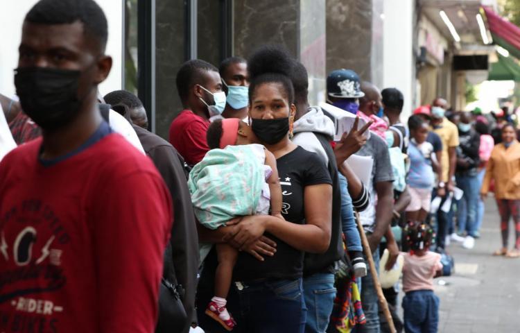 Haitianos planean quedarse en México ante imposibilidad de entrar en EE.UU.