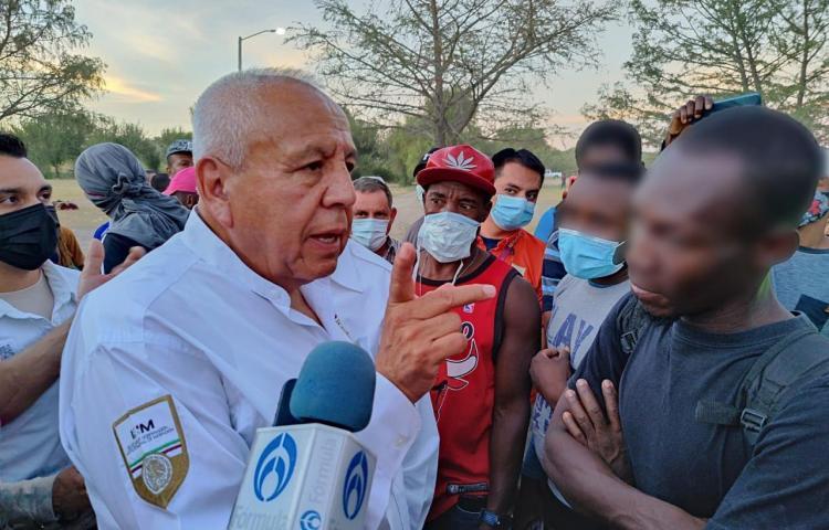 """""""En el cielo hay control migratorio"""", dice encargado de migración mexicano"""