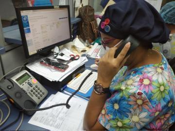 Se restablece la comunicación telefónica en policlínica de Colón