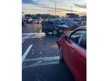 Triple colisión en la autopista Arraiján-La Chorrera deja un muerto