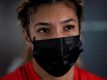 La panameña Gianna Woodruff se prepara para subir al podio en París 2024