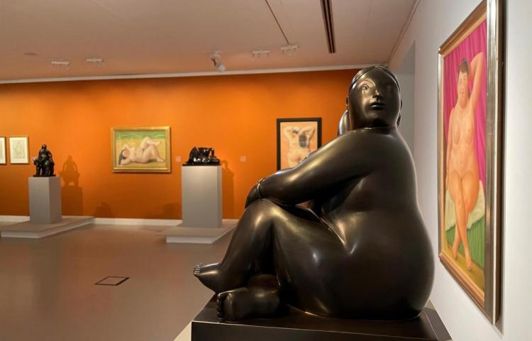 Botero manda a pedir sus obras para una exposición en Bélgica