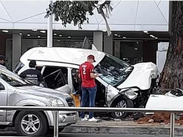 Un muerto y tres herido deja accidente de tránsito en la Vía España