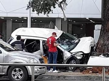Dos fallecidos y 231 accidentes de tránsito fue el saldo del fin de semana