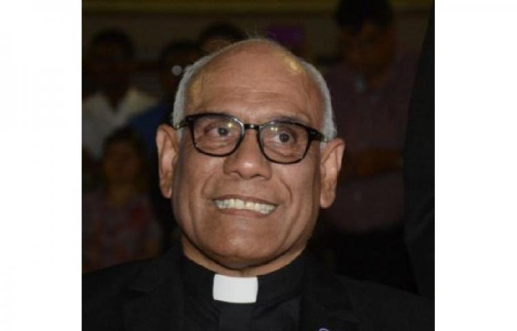 Fallece elpárroco de San Francisco de La Caleta monseñorRómulo Aguilar