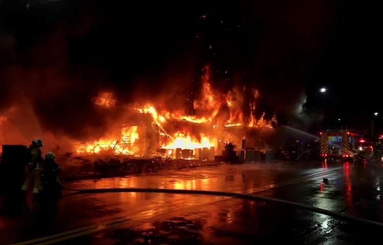 Un incendio en el sur de Taiwán deja al menos 46 muertos y decenas de heridos