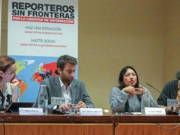 Reporteros Sin Fronteras denuncian la censura que sufre Nicaragua