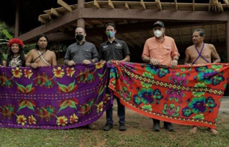 Comunidad indígena recibe rancho para atender a turistas