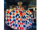Pollera con bandera panameña impresa genera polémica en redes sociales