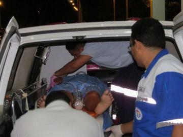 Colisión dejó 30 heridos