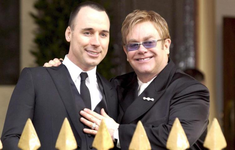 Elton John y David Furnish oficialmente casados
